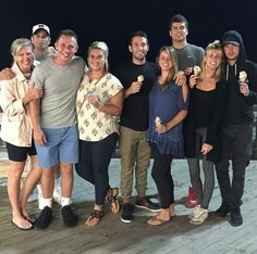 Tyler and Jenna and their families. <3