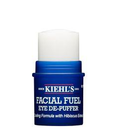 Facial Fuel Eye De-Puffer -- a lightweight, cooling eye stick that minimizes puffiness.