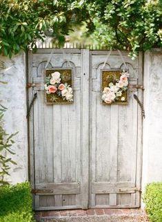 Cute cottage garden gates.. by khanittha