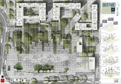 Landscape Architecture - Garden design based in London Masterplan Architecture, Plans Architecture, Landscape Plane, Urban Landscape, Landscape Design Plans, Landscape Architecture Design, Design Plaza, Urban Design Diagram, Parking Design