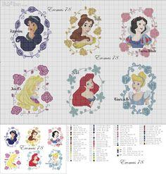 ENCANTOS EM PONTO CRUZ: As Princesas da Disney