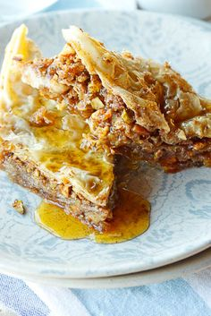 Do you like deserts? Then don't forget to ask for Baklava on your next trip to Turkey. Phyllo pastry, walnuts, cinnamon, cardamom, cloves, and a honey-lemon syrup make for a very sweet and delicious treat.