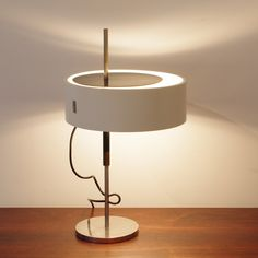 Mod.243 desk lamp by Angelo Ostuni & Roberto Forti for Oluce, 1950s