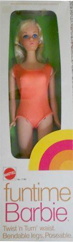 1974 Funtime Barbie, BARBIE & FRIENDS NRFB ARCHIVES