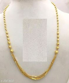 Gold Jewelry Simple, Simple Necklace, Gold Necklace, 1 Gram Gold Jewellery, Gold Jewellery Design, Buying An Engagement Ring, Engagement Rings, Republic Day, 100 Free