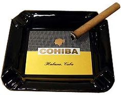 Buy Cigar ashtrays for worldwide delivery. Your favorite cigar ashtray including Cohiba ashtrays. Buy ashtrays and other cigar accessories here.