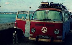 no explanation needed!My husband said. But I have always loved these:) Vw Cars, Vw Camper, Volkswagen, Vw T1, Vintage Cars, Classic Cars, Road Trip, Vehicles, Pictures