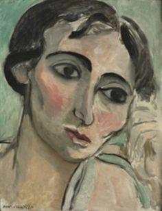 Henri Matisse - Head od a woman, 1917.