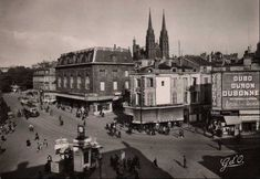 Clermont Ferrand, Rues, Chapelle, Paris Skyline, Photos, Travel, Auvergne, Pictures, Viajes