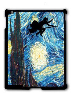 Harry Potter and Stary NIght iPad 2 3 4, iPad Mini 1 2 3 , iPad Air 1 2