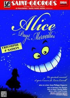 ALICE AU PAYS DES MERVEILLES, le chef d'œuvre de Lewis Caroll sur les planches au Théâtre St Georges, 51 rue St Georges 75009 Paris,  jusqu'au 3 janvier ! Dès 5 ans