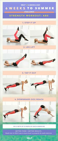 6 Weeks to Summer: Abs