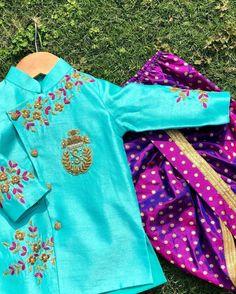 Baby Boy Dress, Baby Dresses, Bridesmaid Dresses, Kids Indian Wear, Kids Ethnic Wear, Kids Dress Collection, Kids Party Wear Dresses, Boys Kurta Design, Mens Sherwani
