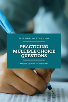 What have you been studying for the CMA Exam? The multiple choice questions are very important, and our guest writer Yen tells us all about how she passed and what helped her!  #CMAExam #CMA #EarnCMA