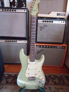 Jim Campilongo's 1962 Fender Stratocaster guitar