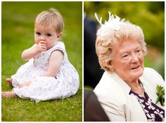 Everybody enjoys a wedding celebration, no matter what age you are.