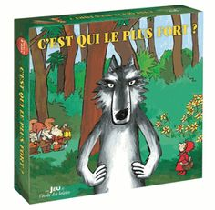 Ensemble contre le loup - C'est qui le plus fort? - l'école des loisirs http://lesptitsmotsdits.com/plus-fort-ensemble-contre-le-loup/