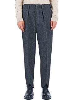 Ezmenegildo Zegna Harris Tweed Pants in Brown £795