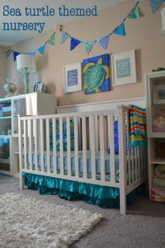 Sea Turtle Nursery Theme (source: http://quinntessentialmomma.wordpress.com)