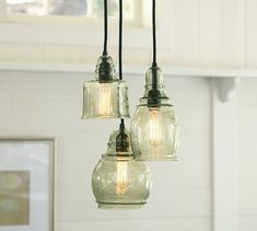Shop Pottery Barn for expertly crafted pendant lighting. Find pendant light fixtures in a variety of styles and finishes, including glass, brass and nickel. Decor, Lamp, Kitchen Lighting Over Table, Kitchen Pendant Lighting, Light Fixtures, Home Lighting, Lights, Pendant Light Fixtures, Room Lights
