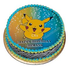 We have a huge collection of Pokemon birthday cake that you can buy in any shape, size, and flavor. Cartoon Cakes, Pokemon Birthday Cake, Cool Cake Designs, Cake Online, Free Design, Shapes, Desserts, Kids, Collection