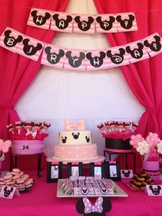 Minnie Mouse Birthday Party Ideas | Photo 1 of 22 | Catch My Party