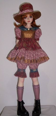 OOAK fashion set for 25 inch Goodreau Aimee SD BJD dolls Cameo