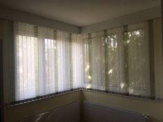 Lamelles verticales de 89 mm, EL Kos panachée Decoration, Kos, Valance Curtains, Home Decor, Bedding, Indoor Window Shutters, Curtains, Decor, Decoration Home