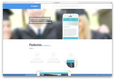 … App Landing Page, 404 Page, Wordpress, Apps, Productivity, Products, App