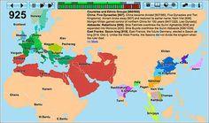 Atlas interactivo de la historia de la humanidad en sus primeros 4.000 años.