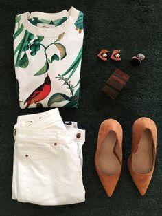 Daynight Sweather Look Madewell, Tote Bag, Casual, Bags, Fashion, Handbags, Moda, Fashion Styles, Totes