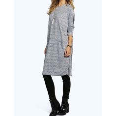 CLEARANCE Comfy daily tee dress NWT - M/L Available in medium/large - gorgeous high quality throw on and go dress Dresses Long Sleeve