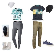 """""""<3"""" by thomas-patricia on Polyvore featuring beauty, Hollister Co., NIKE, Laundromat, Phase 3 and UGG Australia"""