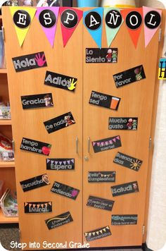 Pennants idea from Step into 2nd Grade with Mrs. Lemons