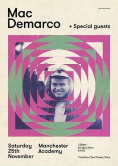 — Poster — Now Wave presents Mac Demarco