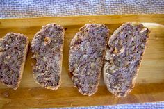 This keto walnut bread is a delicious low carb bread packed full of walnuts and is only net carbs a slice. A rustic low carb bread full of texture. Best Keto Bread, Low Carb Bread, Low Carb Keto, Low Carb Recipes, Diabetic Bread, Bread Recipes, Coconut Flour Recipes, Keto Bagels, Easy Freezer Meals