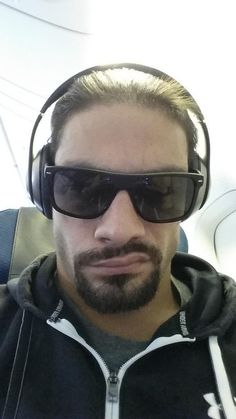 New Selfie from Roman Reigns On The Way to Japan