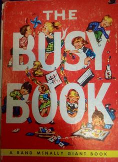 Hey, I found this really awesome Etsy listing at https://www.etsy.com/listing/163093216/the-busy-book-a-rand-mcnally-giant-book