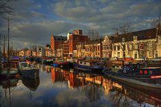 Eetcafe Kaap Noord in Groningen Holland Cities, Visit Holland, Beautiful Islands, Beautiful Places, Holland Beach, Side, Koh Tao, Capital City, European Travel