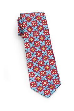 Colorful Mexican Tie made from cotton.