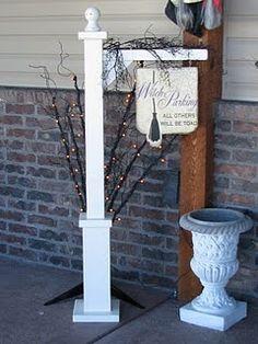 Dejavu*Crafts: Porch Hanger!