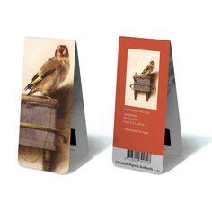 Magnetic Bookmark: Carel Fabritius - The Goldfinch - € 9,75, set of 5 pcs - #museum #tartt #bookmark