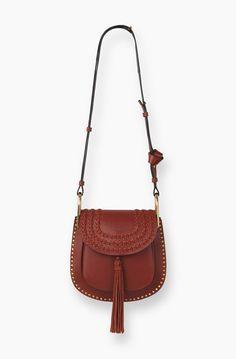 chlor bag replica - MINI HUDSON BAG IN CHLOE SMOOTH CALFSKIN WITH MULTI TASSELS IN ...