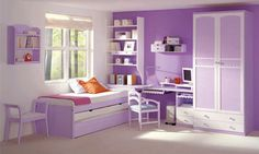 cool 10 year old girl bedroom designs My Room, Girl Room, Girls Bedroom, Bedrooms, Room Interior Design, Kids Room Design, Feng Shui Bedroom, Purple Rooms, Lilac Room