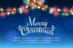 Merry Christmas poster by vectortatu on @creativemarket