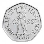 2016 50p - Battle of Hastings