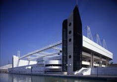 Auditorio Expo 92-Sevilla Theatres, World's Fair, Concert Hall, Golden Gate Bridge, Houses, Memories, Travel, Beauty, Santa Cruz