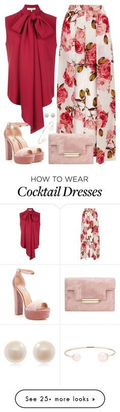 """Untitled #3292"" by emmafazekas on Polyvore featuring Carolina Herrera, Steve Madden, Ted Baker and Links of London"
