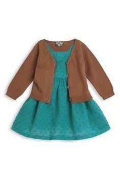 Collection Bonton été 2013 ♥ Robe tablier Bague en plumetis ♥ Cardigan fin en coton
