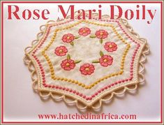 1 , & Doily design *Please Note: The HUS format only includes designs for this set due to size limitations of the hoop. All Design, Free Design, Change Email, Doilies, Embroidery Designs, Africa, My Favorite Things, Detail, Floral